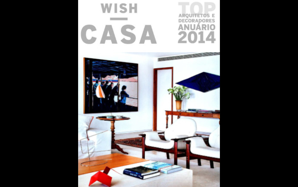 Wish Casa 2014 Yearbook Adriana Varejaos House Designed By Lia Siqueira Living Room Detail Featuring Jorge Zalszupins Veronica Armchair